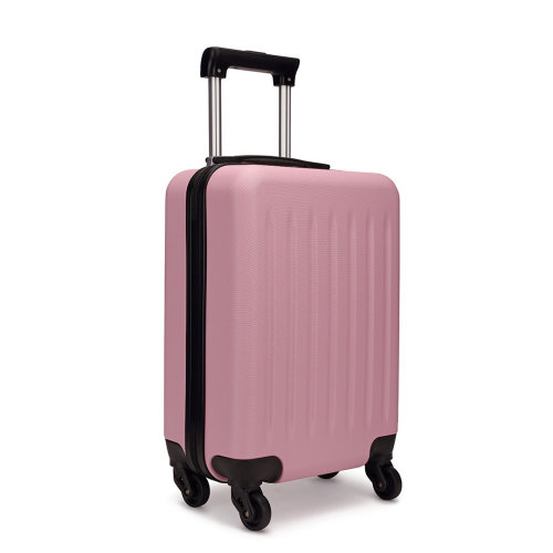 KONO Ryanair Easyjet Cabin Approved Luggage Suitcase Pink
