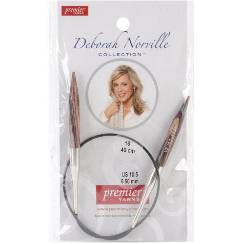 "Premier Fixed Circular Knitting Needles 16""-Size 10.5/6.5mm"