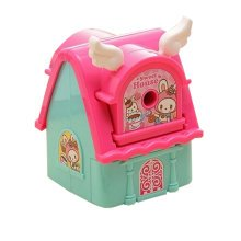 Kids Cute  Manual Pencil Sharpener For Classroom ,Sweet  house,School Stationery