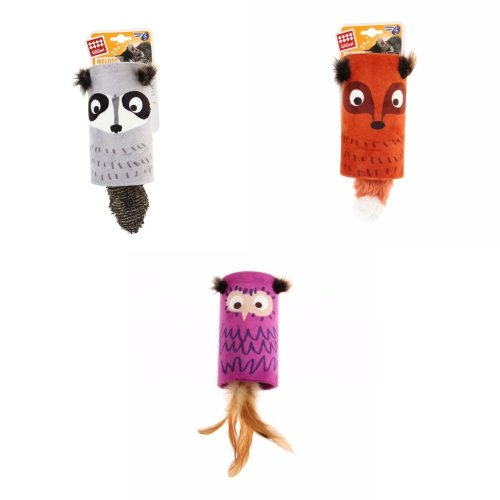 Rosewood GiGwi Cat Melody Tube Toy (Assorted Colours) - ASRTD