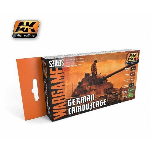 AK01167 - AK Interactive Set German Camo (Wargame Series)