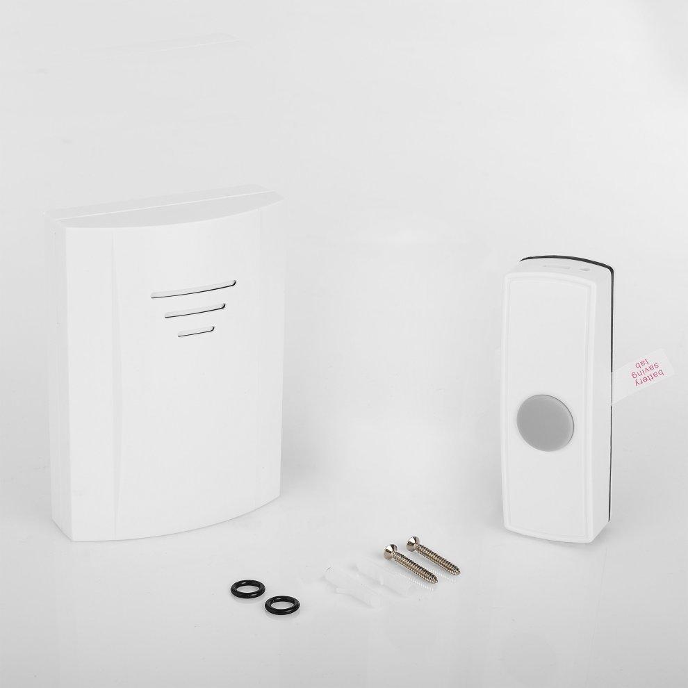 Battery powered Byron B304 Wireless doorbell kit 50 m range