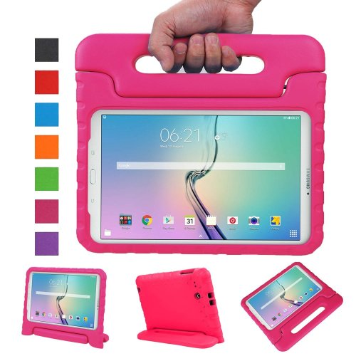 timeless design 1151b 2c8a4 NEWSTYLE Tab E 9.6 Kids Case - Shockproof Light Weight Protection Handle  Stand Kids Case for Samsung Galaxy Tab E / Tab E Nook 9.6 Inch 2015  Tablet...