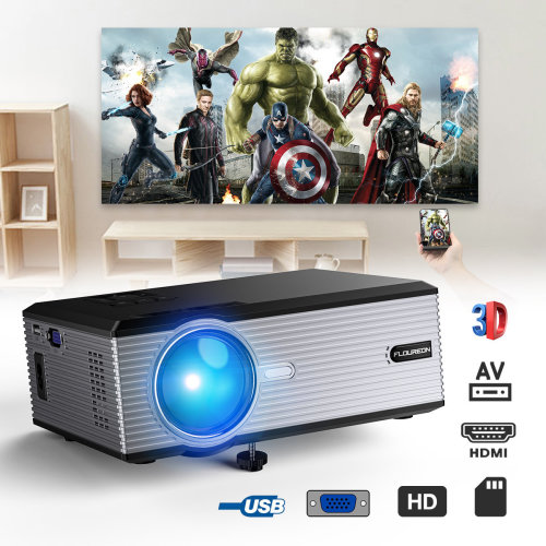 LED Projector 3000Lumen Home  Theater 1080p USB SD HDMI