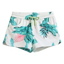 Hot Spring Beach Pants Women's Quick-drying Slacks Holiday Swimsuit,L Size,B2