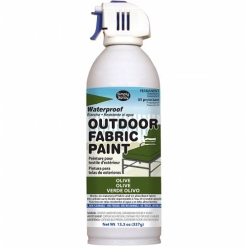 OF0046-9M Outdoor Spray Fabric Paint - 13.3 oz., Olive
