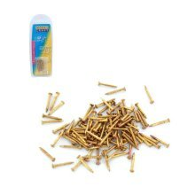 Pack Of 100 Brass Pins For Ppu8174 Pin Pusher -  modelcraft brass pins pack 100 gold