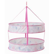 24'' Clothes Sweater Drying Rack/Net Hanging Drying Basket for Laundry[Orchid]