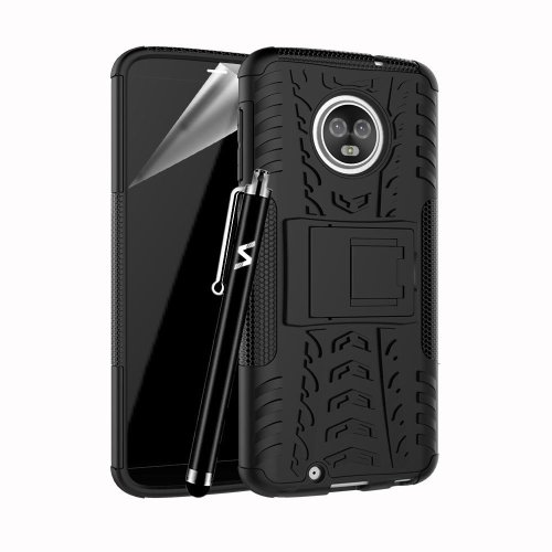 For Moto G6 Tough Rugged Shockproof Case Cover