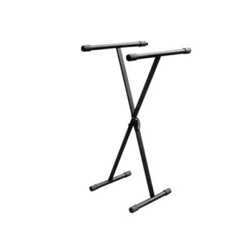 New Jersey Sound Corporation Folding Heavy Duty X Frame Type Keyboard Stand With Height Adjustment