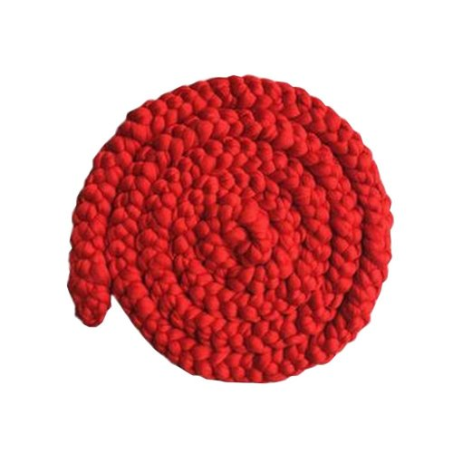 Newborn Photo Props Photography Props Photography Mat [Red]
