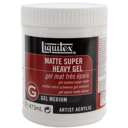 Liquitex Super Heavy Matte Acrylic Gel Medium-16oz