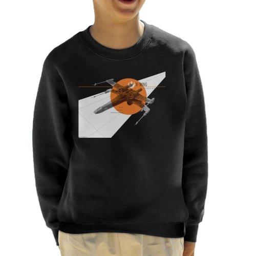 Star Wars X Wing Starfighter Kid's Sweatshirt
