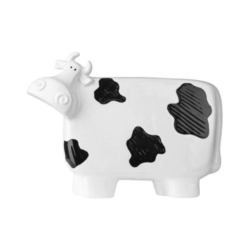Premier Housewares Large Cow Ceramic Ornament W32 X D9 X H24 Cm