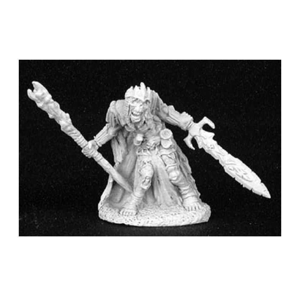 Reaper Miniatures Dark Heaven Legends 02856 Usher Vampire with Victim