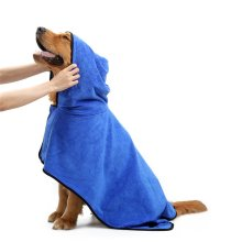 Soft & Warm Dog Easy Wear Microfiber Bathrobes Towel