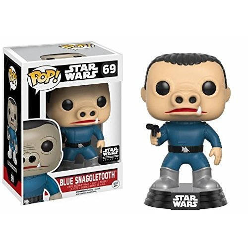 Funko Star Wars Pop! CHASE Blue Snaggletooth