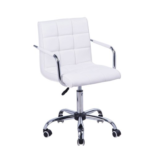Pleasing Homcom Swivel Office Chair Pu Leather Desk Chair Pdpeps Interior Chair Design Pdpepsorg