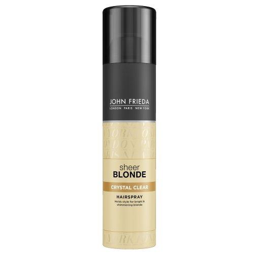 John Frieda Sheer Blonde Crystal Clear Hairspray, 250 ml