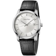 Calvin Klein Infinity Leather Mens Watch K5S311C6