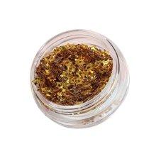 5 Boxes Makeup Glitter Sequins Shining Nail Art Sequins Face Glitter Star Golden