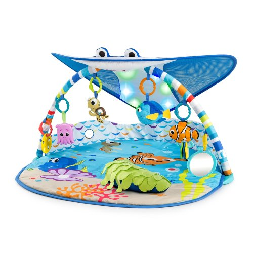 Disney Baby Mr. Ray Ocean Lights Activity Gym & Play Mat