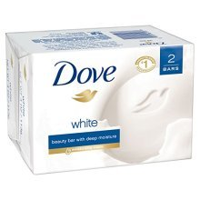 Dove Beauty Bar, White 4 oz, 2 Bar