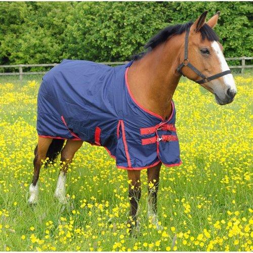 Horse Rug Snowdon Outdoor Standard Navy/red 2 Tone 5' 6''
