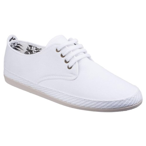 Flossy Mens Yago Lace Up Espadrille Shoes