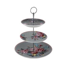 Pippa 3-Tier Cake Stand, Multi-Colour