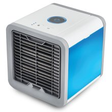 Portable Air Conditioner Cooling Fan USB Cooler Humidifier Purifier