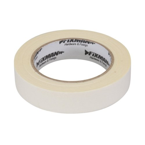 Fixman Low Tack Masking Tape 25mm x 50m -  low tack masking tape fixman 25mm 50m 193178