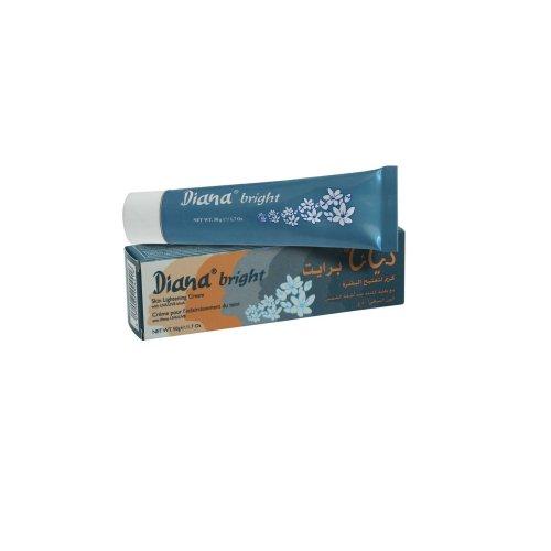 Diana Bright Skin Lightening Cream with UVA/UVB Block 50g BY ELYSEESTAR - to Whiten Black, Asian, Somali, Arab Skin
