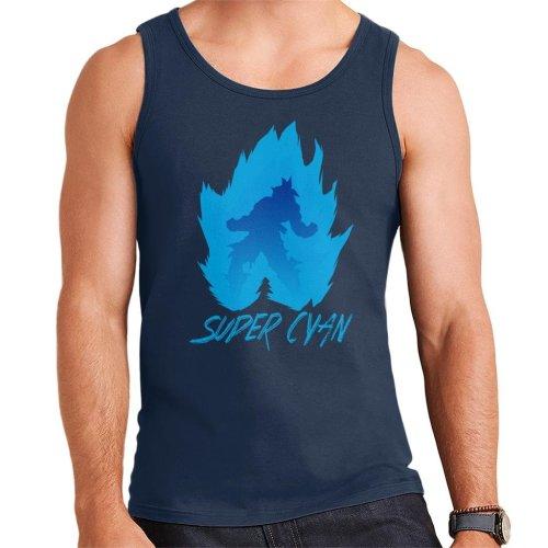 Dragon Ball Z Super Cyan Men's Vest