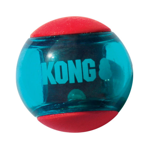 Kong Squeezz Action Red Small 3pack