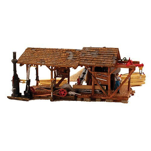 HO BuiltUp Buzz's Sawmill