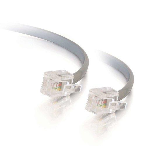 C2G 10m RJ11 6P4C Straight Modular Cable