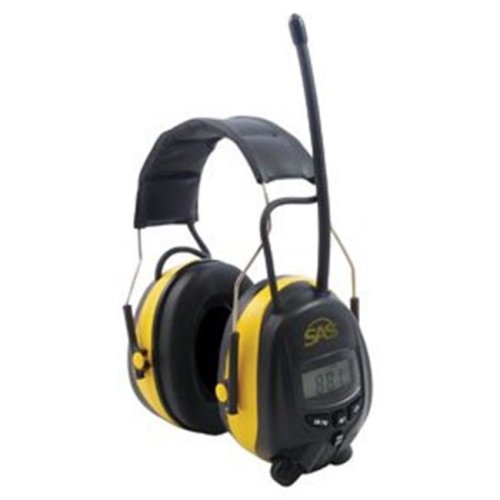 SAS Safety SAS6108 AM-FM Earmuff Hearing Protection