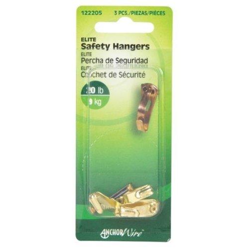 Hillman 122205 20 lbs Elite Safety Hanger- pack of 10