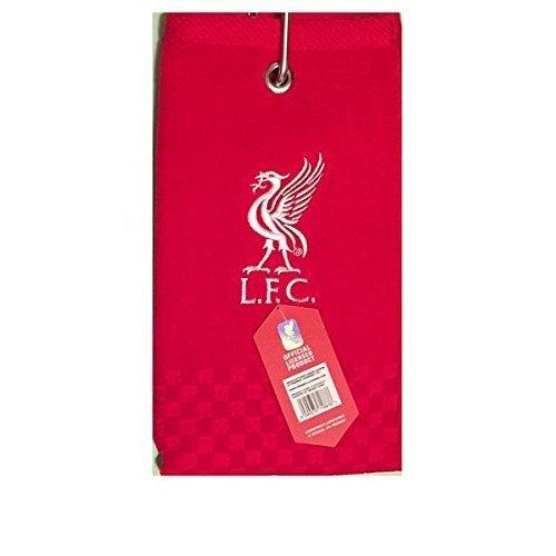 New 2018 Liverpool Fc Cross Tri Fold Golf Towel By Premier Licensing. - Tri -  liverpool golf towel fc trifold new football