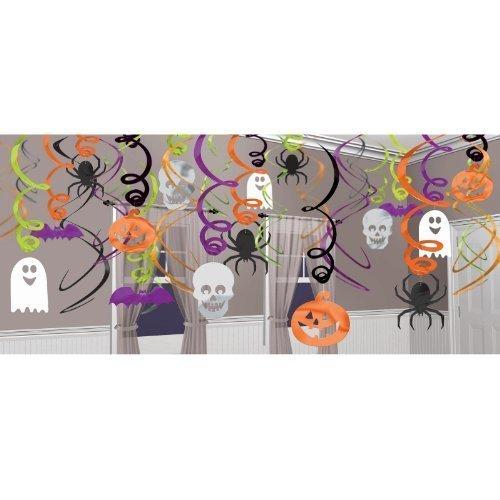 Halloween Hanging Swirls Decorations