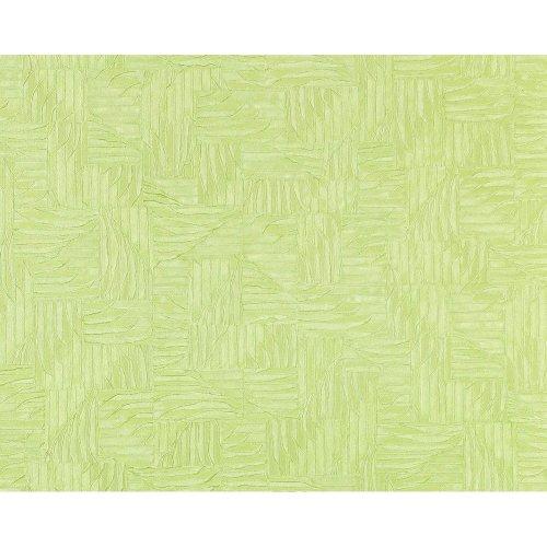 EDEM 913n-28 wallpaper non-woven 3D embossed basketwork pattern green 10.65 sqm