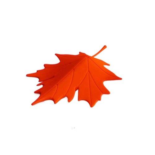 Red Maple Leaf Decoration Door Shield Door Stop/Holder