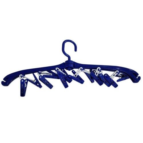 Belt Underwear Hanging Rack Multifunction Clothes Hanging Rack Blue