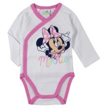 Minnie Mouse Bodysuit - White