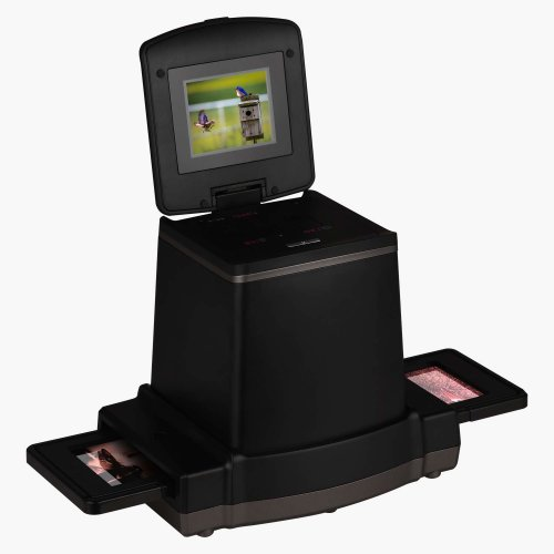 120 Film High Resolution Slide Viewer with 2.4 LCD Screen,Converts6*9/6 * 8/6 * 7/6 * 6 and 6 * 4.5cm Film into Digital Photos, Compatible with Mac/PC