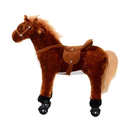 Homcom Toy Riding Horse | Kids' Ride-On Horse