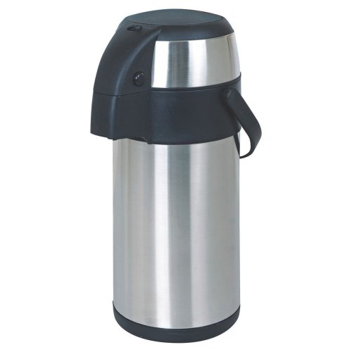 5 Litre Stainless Steel Pump Action Airpot Vacuum Flask Thermos Jug Air Pot