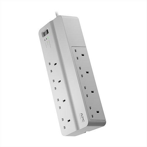 APC SurgeArrest 8AC outlet(s) 230V 2m White surge protector