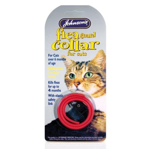 Jvp Cat Flea Collar Waterproof Mixed Colours 35cm (Pack of 6)